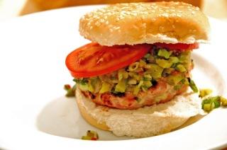 Cilantro Tuna Burgers